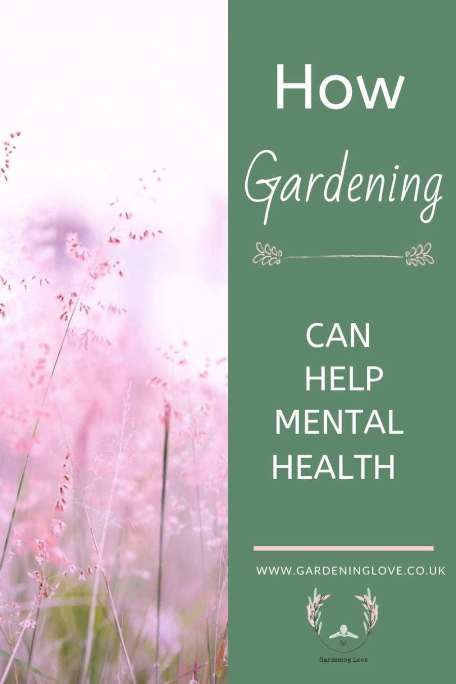 how gardening can help mental health. #garden #mentalhealth #wellbeing #outdoors