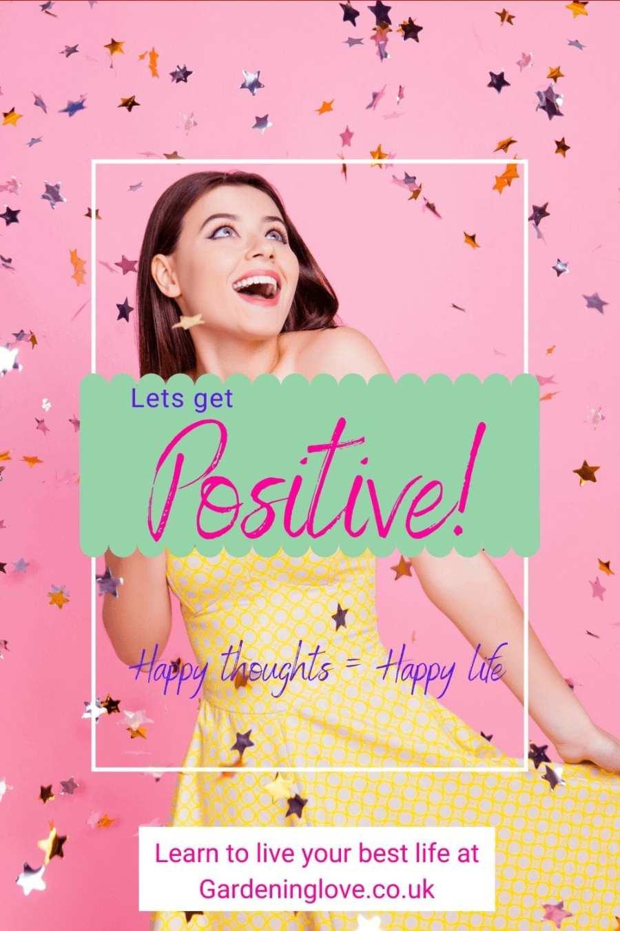 let's get positive #positivity #mindset