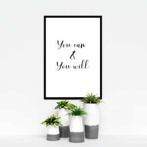 you can & you will mockup