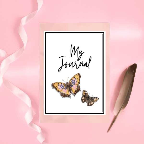 Butterfly Journal Printable Organiser