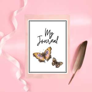 Butterfly Journal Printable Organiser