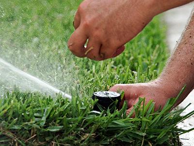 irrigation system maintenance gardening