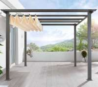 DIY: Pergola Kit, Canopy Included - Gardenista