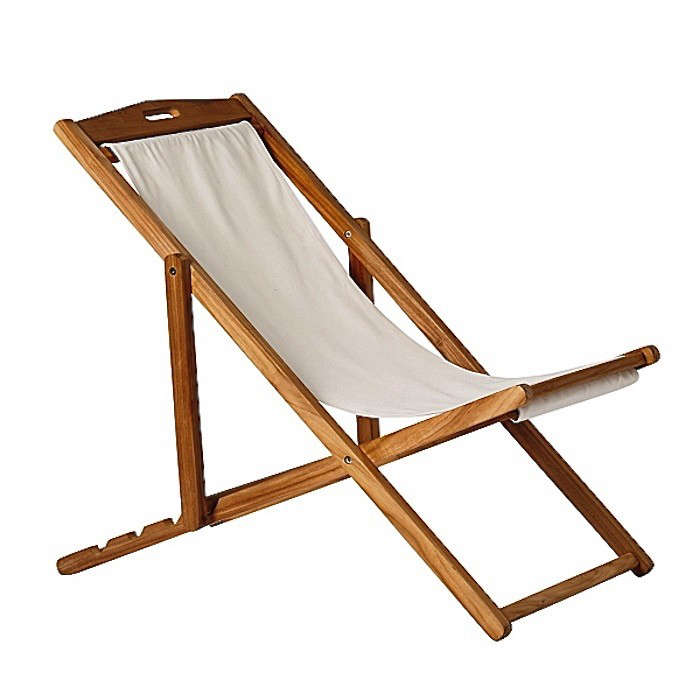 MustHave Markdown A Stylish Beach Chair Gardenista
