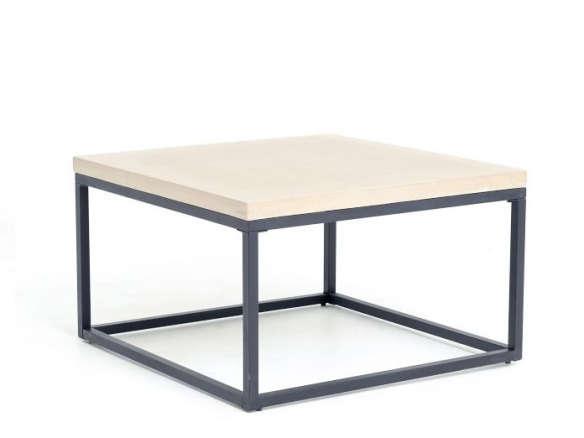 slab box frame coffee table square
