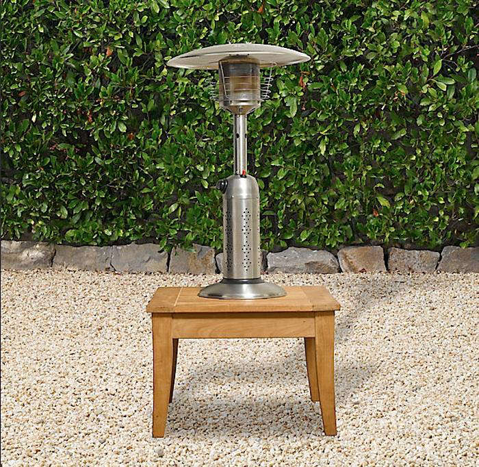 deluxe tabletop propane patio heater