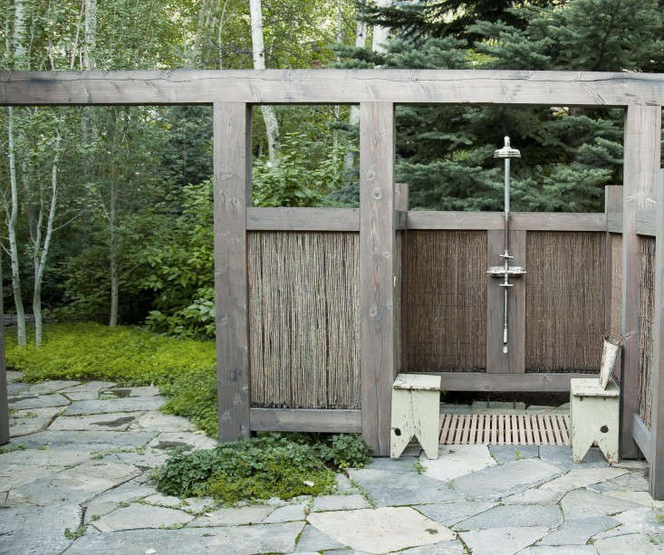 Hardscaping 101 Outdoor Showers  Gardenista