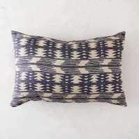Indigo Stripe Patio Pillow: Gardenista