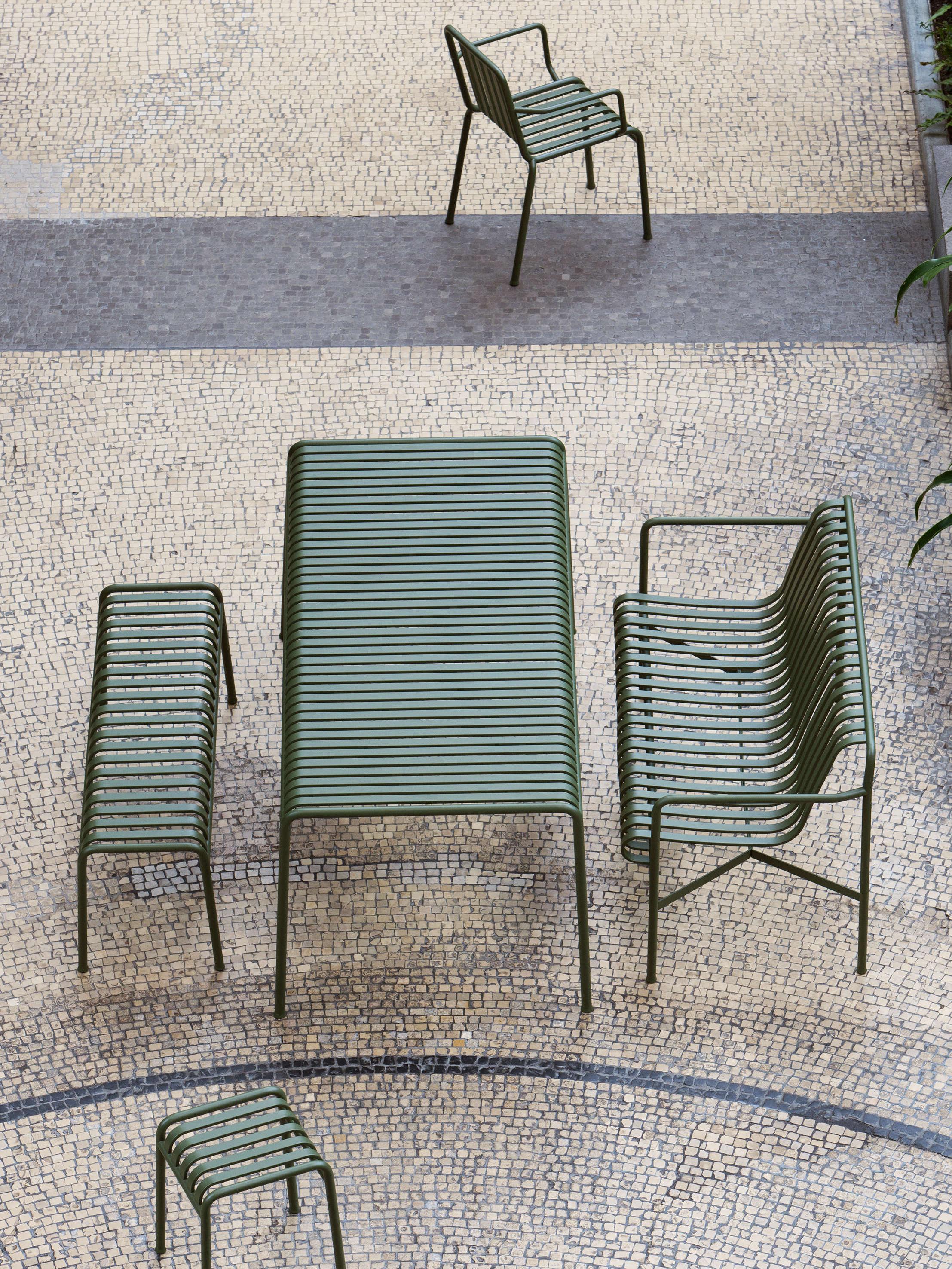 Outdoor Furniture Metal Lawn Chairs Made Modern  Gardenista