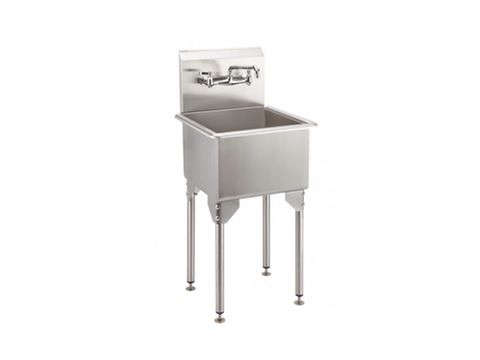 21 in stainless steel utility sink