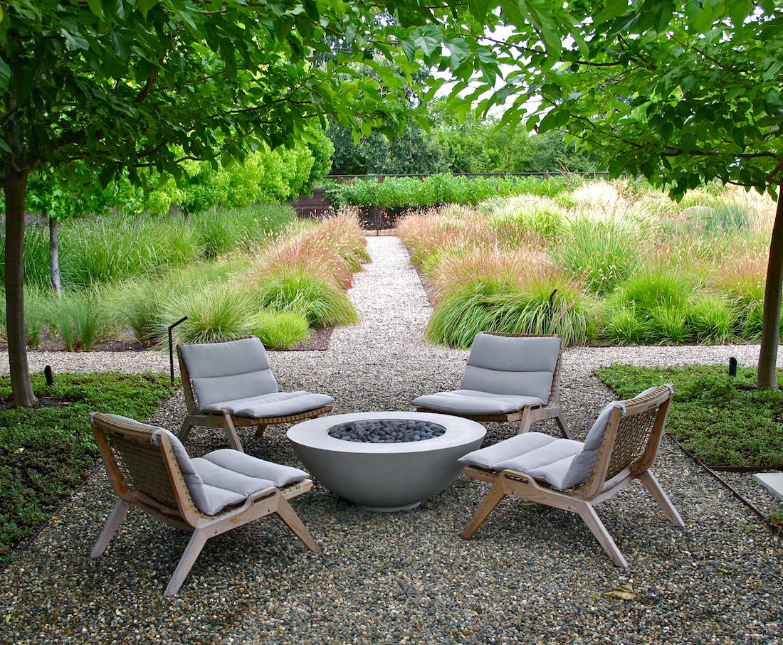 backyard fire pit chairs chair design evolution favorite furniture sustainable teak from an italian