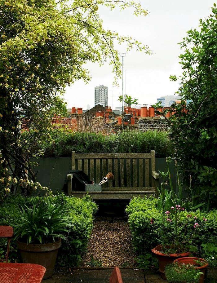 Landscape Design 10 Simple Layouts for Summer Roof
