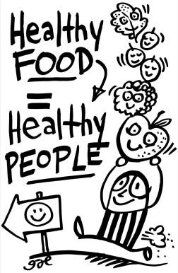 Healthy Food = Healthy People