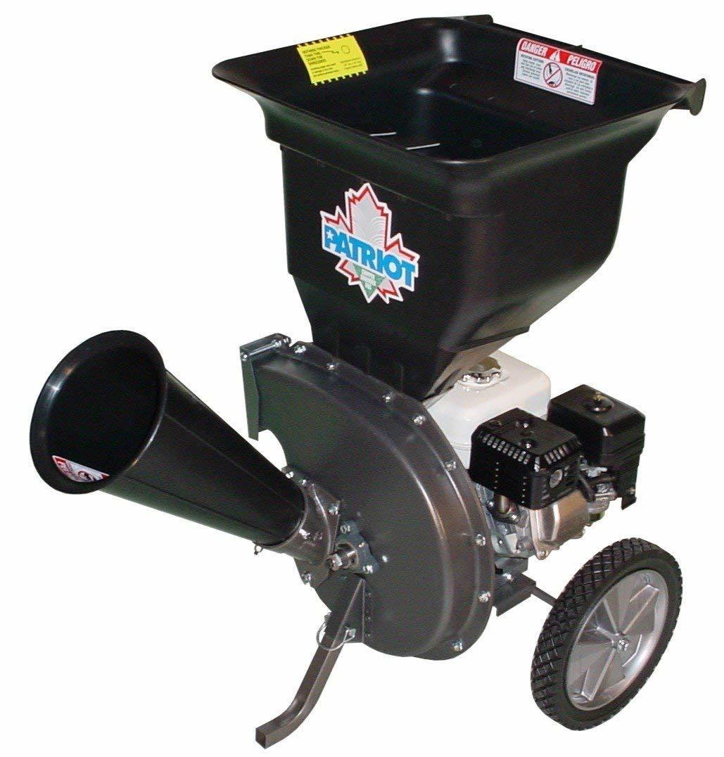 gas-leaf-shredder