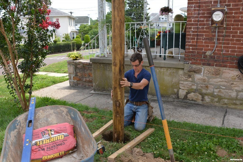 how to build garden fence 1