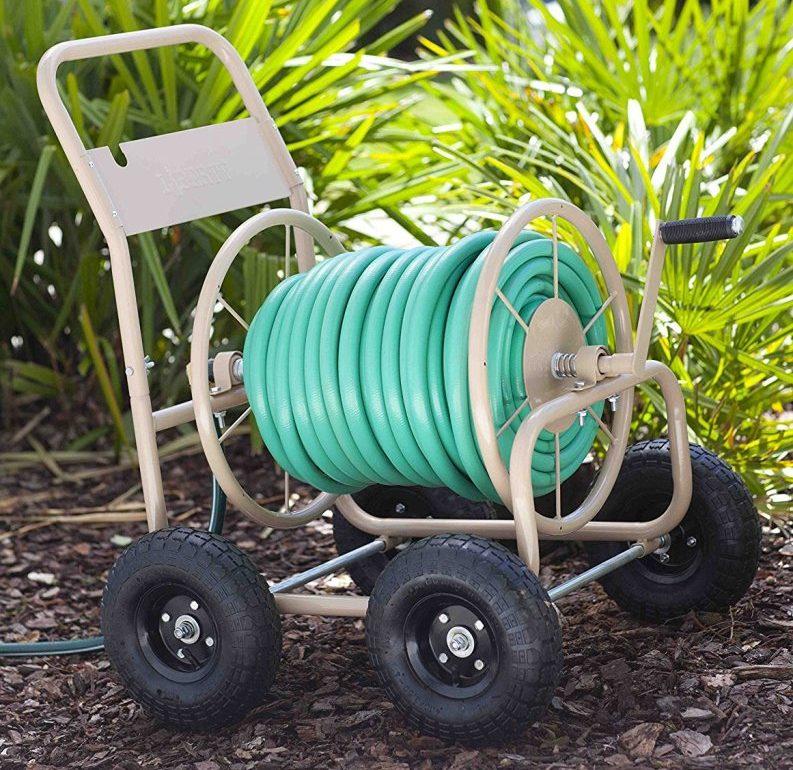 hose reel system works