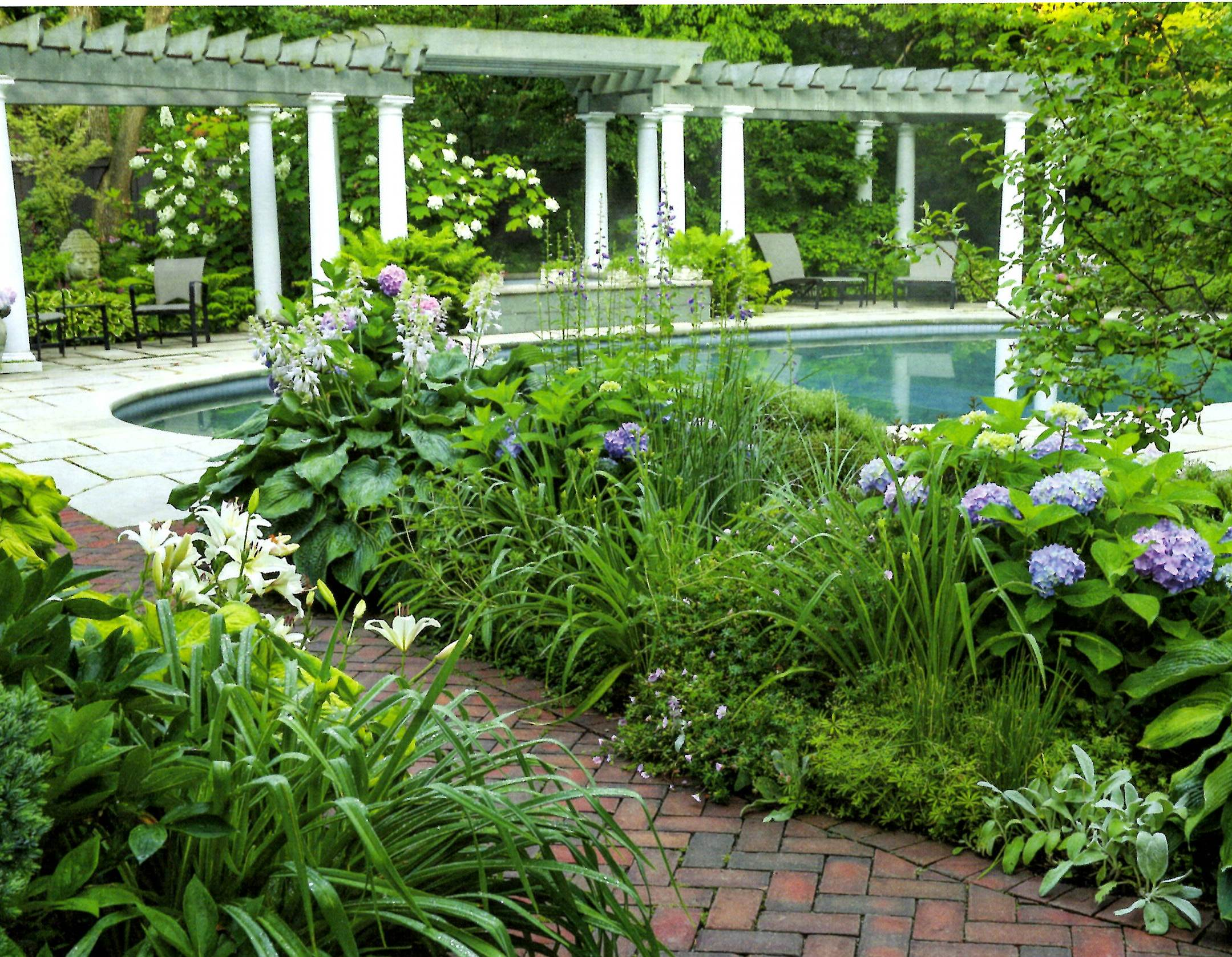 This Garden Has Twice Been A Highlight Of The Gracious Gardens Of Shaker  Heights Tour And Was Featured In Fine Garden Gardening Magazine For Its  U201cCurve ...
