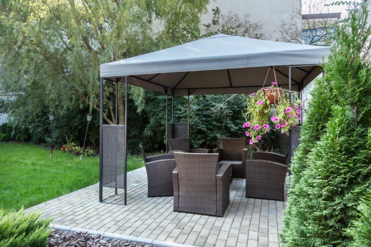 stunning shelters garden gazebo ideas garden patch