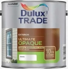 Dulux paint is a well-known brand which can be trusted.