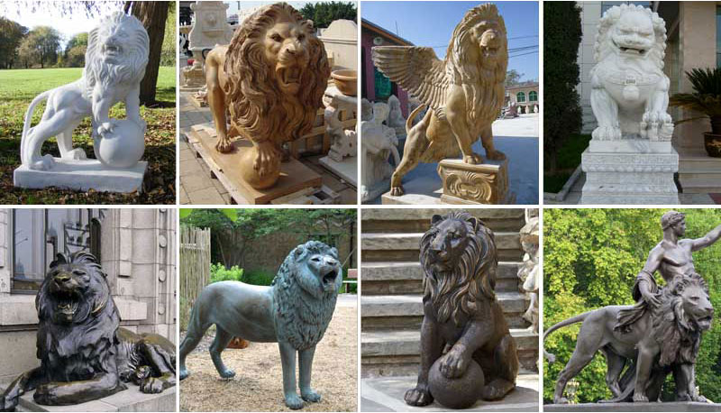 worlds largest lion sculpture carved in 3 years by 20 people 1