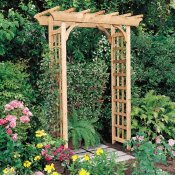 arbor plans wood