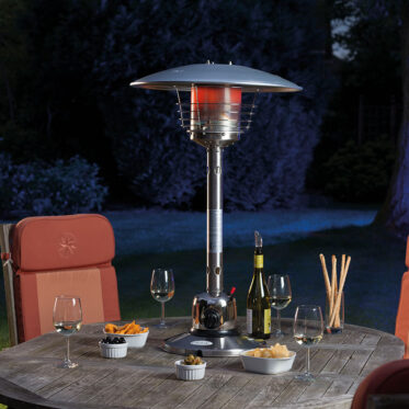lifestyle sirocco 4kw gas table top patio heater
