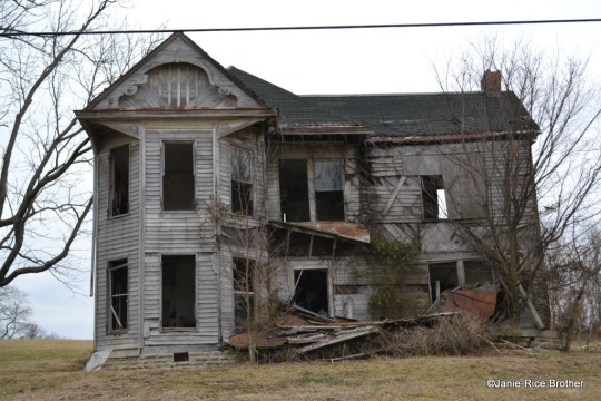 This Italianate/Queen Anne style T-plan house has seen better days, but gives an idea of Moorefield's greatest period of growth and development.