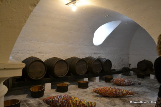 The beer cellar at Uppark.