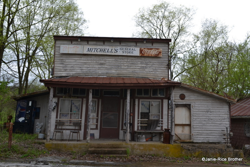 The facade of Mitchell's Store.