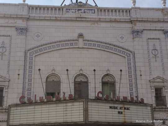 Detail of the facade.