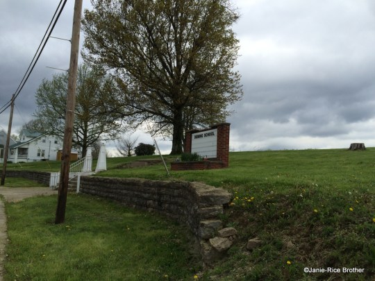 The site of Deming School in Robertson County, Kentucky.