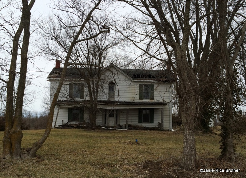 The Sewell House, set on its path of becoming a ghost.