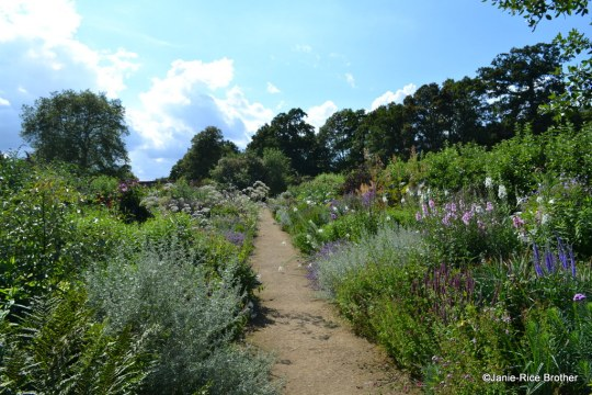 Inside the four-acre walled garden at Parham House, Sussex.