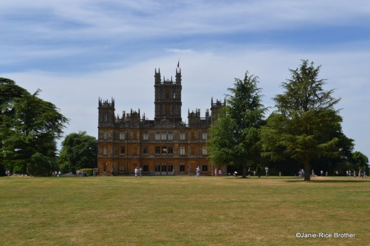 Highclere Castle, of Downtown Abbey fame, and home to the Earl and Countess of Carnarvon.