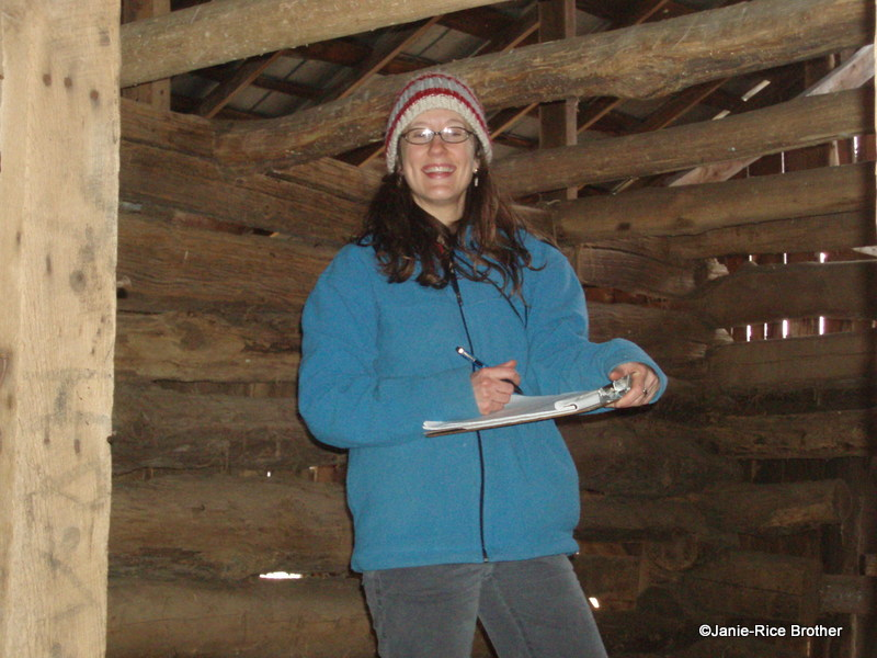 Even when it is very chilly out, I am delighted to document a historic Kentucky barn!