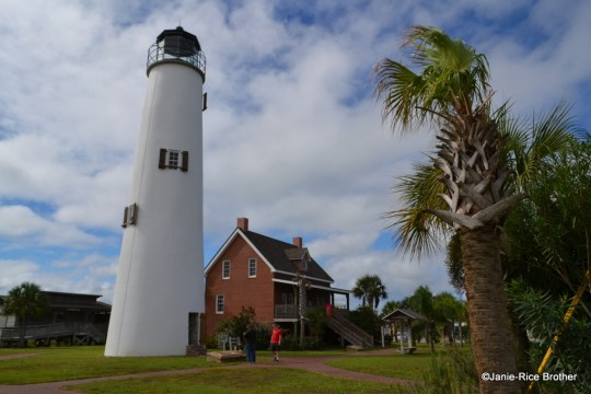 The St. George Lighthouse on St. George Island, Florida.