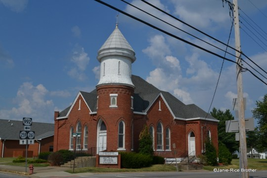 The Methodist Church in Hardinsburg, Kentucky.