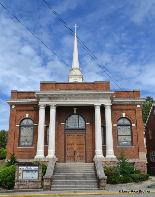 The Harlan United Methodist Church in Harlan, Kentucky.