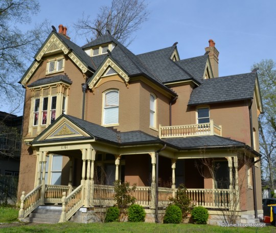 This house in Bowling Green, Kentucky, is listed in the NRHP as part of a historic district.