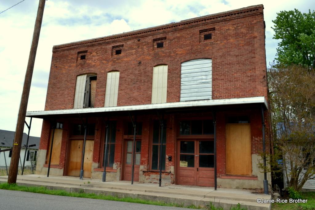 Commercial building in Wickliffe, Ballard County, Kentucky.