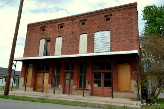 Commercial building in Wickliffe, Ballard County, Kentucky.