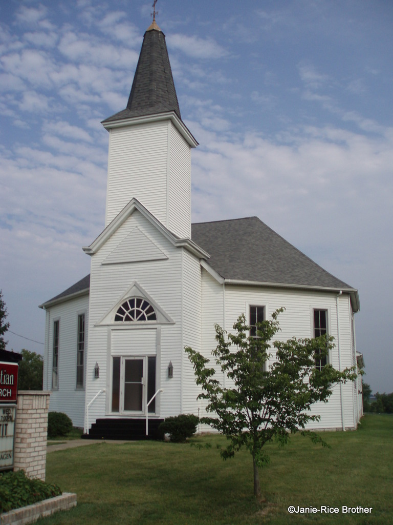Sharpsburg Christian Church in Sharpsburg, Bath County, Kentucky.