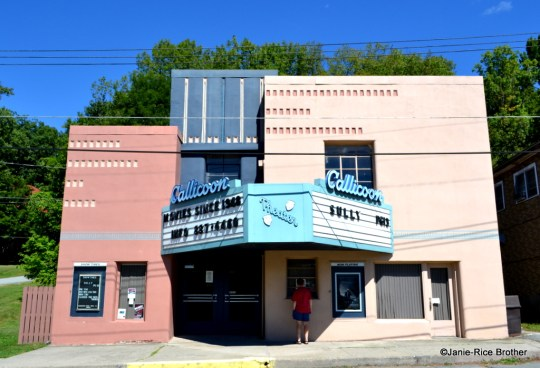 The 1948 single screen movie theater in Callicoon.