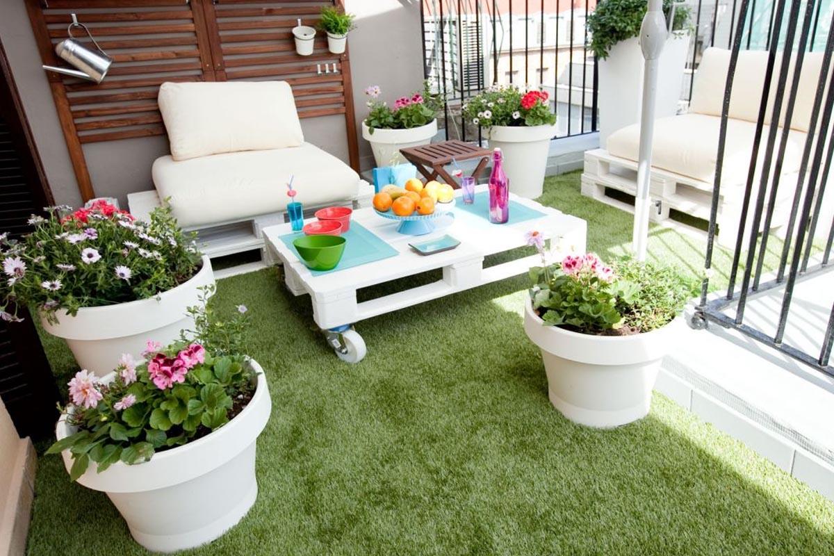 csped artificial en tu terraza es la nueva tendencia - Terrazas Con Cesped Artificial