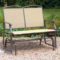 Greenhurst Two Seater Glider Bench