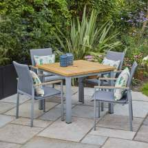 lg outdoor siena 4 seater dining