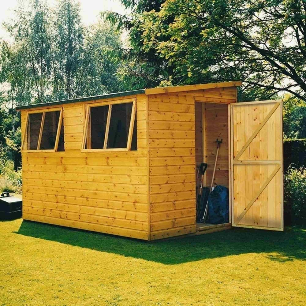 Shire Norfolk Lean To Shed 10x10 Garden Street