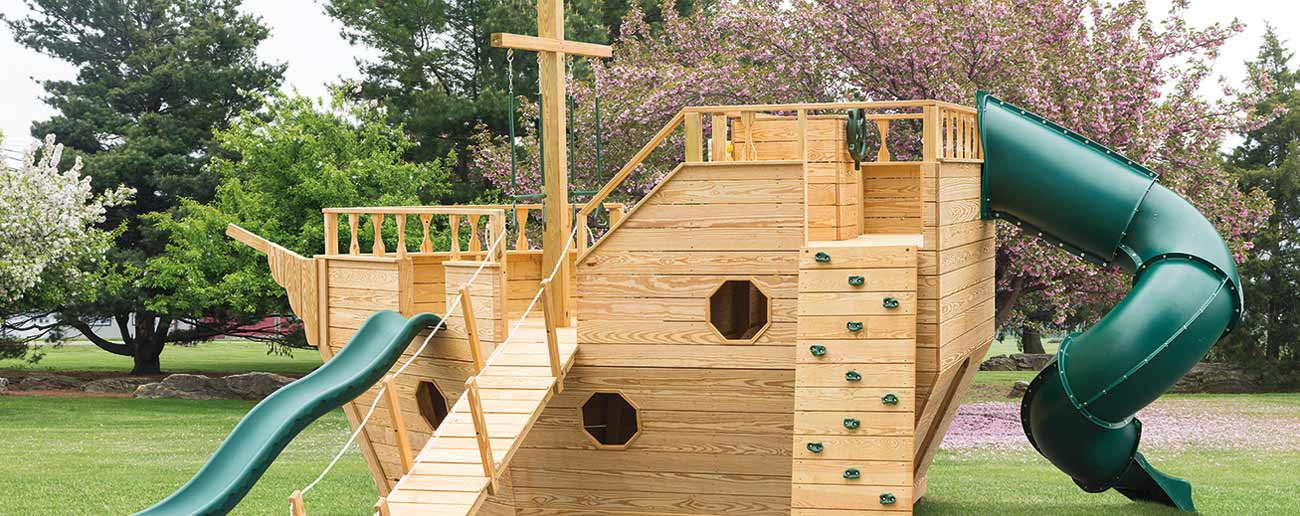outdoor play sets from