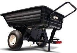 Agri-Fab 8 cu. ft. 350 lb. Poly Convertible Cart