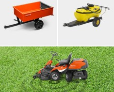 Riding Lawn Mower Attachments